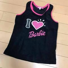 新品◆バービーBarbie◆パイル素材タンクトップ◆120130
