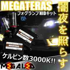 mLED】ランドクルーザー100後期/フォグランプHIDキット/HB4/3000K