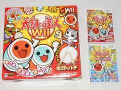 Wii★太鼓の達人Wii 太鼓・バチ付+ドドーンと2代目!ソフト付