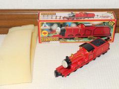 トーマスエンジンコレクション ジェームズエンジン 旧箱 美品