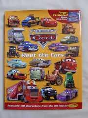 ディズニー カーズ Meet the Cars 洋書 キャラクターの紹介