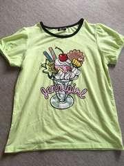 ジェニィ((パフェTシャツ((150、中古