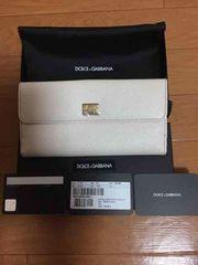 新品未使用DOLCE&GABBANAドルガバ正規店購入 長財布