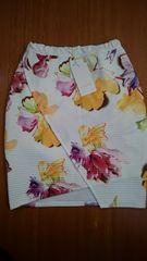 リエンダ 花柄チューリップスカート 新品S 定価6750円