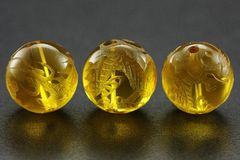 ☆皇帝の五爪龍☆天然石シトリン10mmビーズ1個