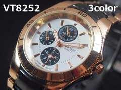 【最後の1点/送料無料】日本製VITAROSOメンズ腕時計