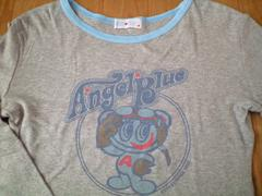 エンジェルブルー・長袖Tシャツ・150(M)