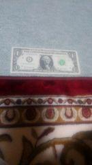 ◆1ドル/紙幣/並品/F81463521I/