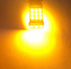 明るい T16  LED 2個セット オレンジ アンバー ウインカーに
