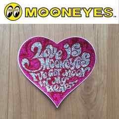 【送料無料】MOONEYES ステッカー ムーンアイズ/Prismピンク