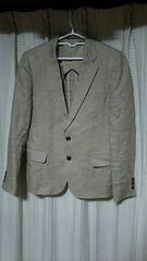 journalstandardリネンテーラードジャケットSサイズ麻ベージュジャーナルスタンダード服