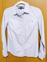�BTOMY 水色シャツ xs