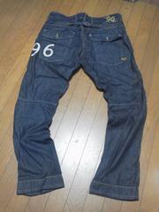 G-STAR 。96ブラックデニム!大きいサイズ(38インチ)