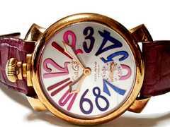 正規 極レア ガガミラノ/Gaga Milano【手巻き】スモセコ 腕時計