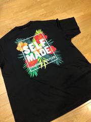 SELF MADE  ハイビスカス  黒ブラック  size3XL→2XL  新品