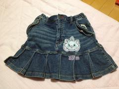 ディズニー☆マリー☆デニムスカート☆130cm