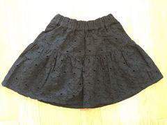 新品タグ付ロデオクラウンズキッズ4860円刺繍花柄フラワーミニスカート