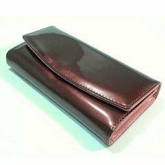 【多機能♪長持ち】長財布(ブラウン×ピンク)カード&小銭