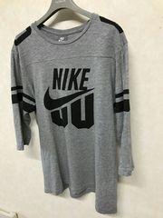 ナイキ/NIKE ナンバリングフットボール7分袖Tシャツ XL