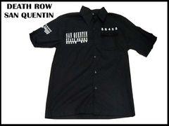ローライダ-XXXXL刑務所ワークシャツ DEATHROWデッスローBBOYビッグサイズ4XL