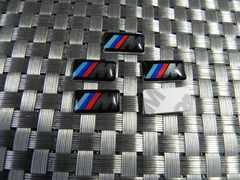 新品BMWエンブレムMスポーツ☆ミニ5枚セットE24E38E81E65