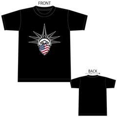 自由の女神 星条旗 Tシャツ 半袖 半袖Tシャツ 1603 XXL 2XL