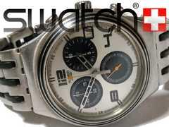 極レア 1スタ★スウォッチ/Swatch IRONY【クロノグラフ】腕時計