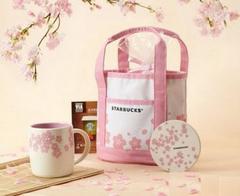 新品Starbucks スターバックス/桜さくらシリーズトートバック