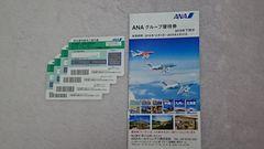 ANA☆全日航株主優待券☆ 4枚(2019年11月末搭乗分まで有効)