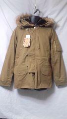 ☆ツイルコットン 中綿 N-3B タイプジャケット M 未使用品 ベージュ