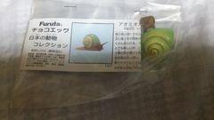 アオミオカタニシ★チョコエッグ・日本の動物コレクション■Furuta