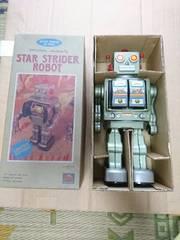 star ストライダーロボットJAPAN未使用ブリキ