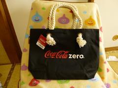 新品 コカコーラZERO 非売品トートバッグ