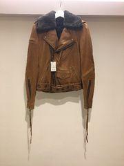 LGB ルグランブルー ボア バイカー レザー ライダースジャケット