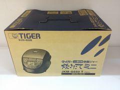 TIGER/タイガー  土鍋IH炊飯器  3号炊き(JKM-G550)新品同様