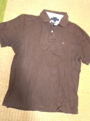 トミー ポロシャツ ブラウン