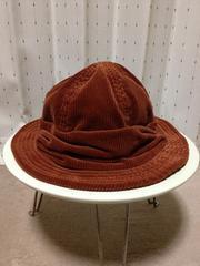 DECHO デコー コーデュロイ マウンテンハット 帽子 茶色 日本製 ビームスボーイ CA4LA