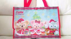 ディズニー TDS クリスマス 15周年 ショッピングバッグ ダッフィー ジェラトーニ シェリーメイ