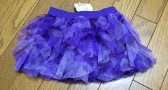 インポートカモフラ柄 紫 スカート 12-18