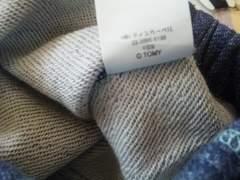 新品未使用タグなしティンカ-ベル長ズボンサイズ130ブル-青ジ-ンズ風綿100%