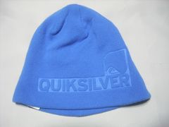 mb864 男 QUIKSILVER クイックシルバー ニット帽 青