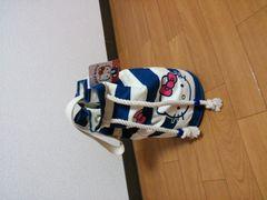 *新品 キティ巾着鞄*可愛いいよ(^O^)