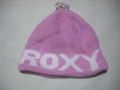 wb658 ROXY ロキシー ニット帽 ビーニー ピンク