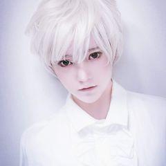 BIGセール★超人気コスプレ用 ウィッグ 銀髪 白髪 ビジュアル