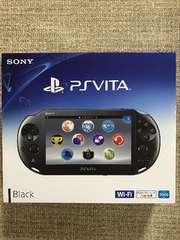 PlayStationVita Wi-Fiモデル ブラック PCH-2000