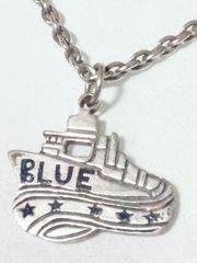 H.R.MARKET  BLUE BLUE シルバー925 船 ネックレス