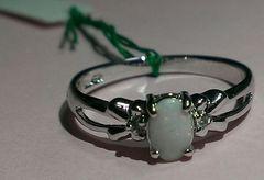 新品☆天然石silverリング指輪指環大きいサイズ15号