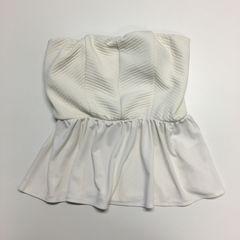 【東京女子会】みゆ 私物 rienda リエンダ カップ付きベアトップ