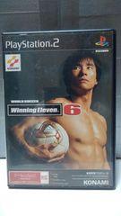 PS2 ワールドサッカー ウイニングイレブン6