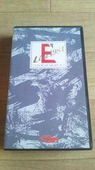 ☆中古/当時物/VHSビデオテープ【『E'Live1984』矢沢永吉 】送180円